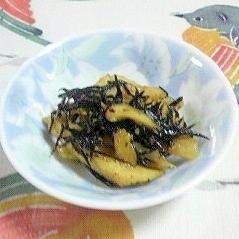菊芋とひじきの炒め物~♪