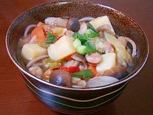 洋風コンソメ蕎麦