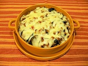 簡単エジプト料理~ナスと挽肉のオーブン焼き