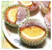 レモンの風味が香る!簡単!レモンのカップケーキ