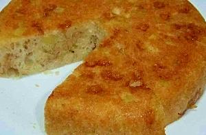 林檎マシュマロ薩摩芋のHMケーキ