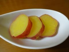さっぱり!サツマイモのレモン煮