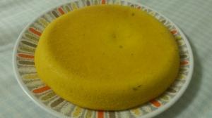 炊飯器で作る、しっとりパンプキンケーキ