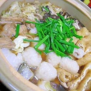 もち米団子deたまっご汁風鍋
