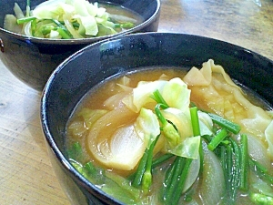 お手軽☆餃子スープ