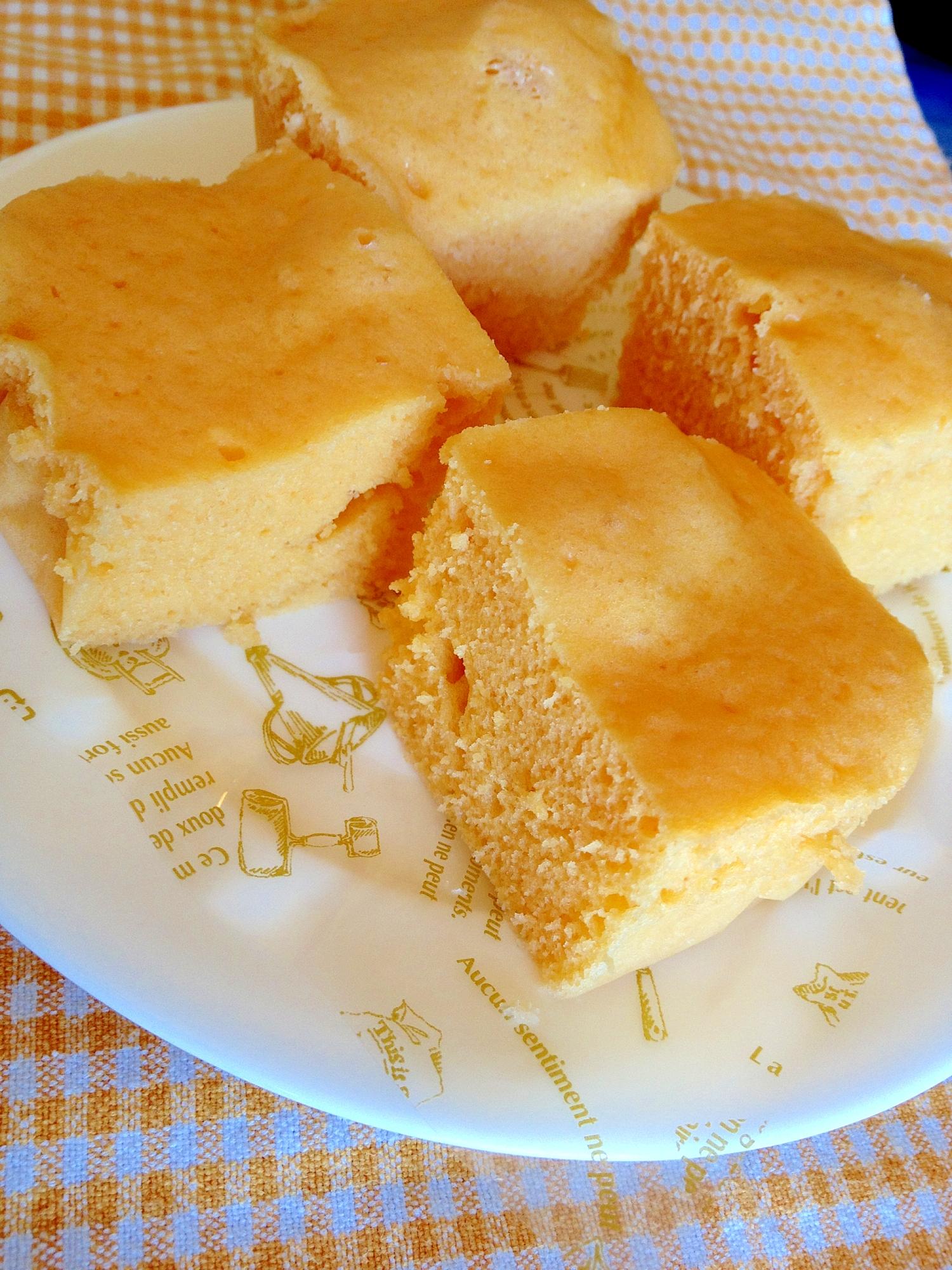 4. ふわふわ野菜ジュース蒸しパン