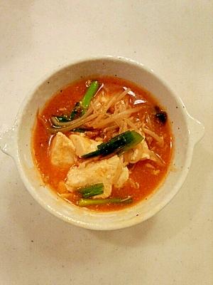 簡単 牛肉ダシダの卵スープ