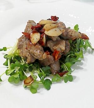 豚肉のニンニク&ドラトマ焼き