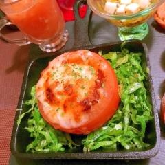 まんまるトマトのスイチリこんがりパングラタン