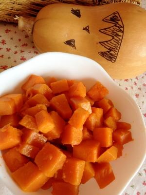 ピーナッツ かぼちゃ レシピ