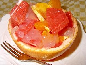 まるごとグレープフルーツ