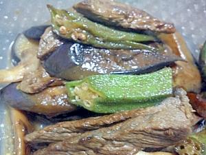 牛肉と野菜の甘辛オイスター炒め