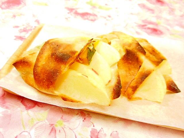 トースターde林檎と南瓜のパイ風焼き