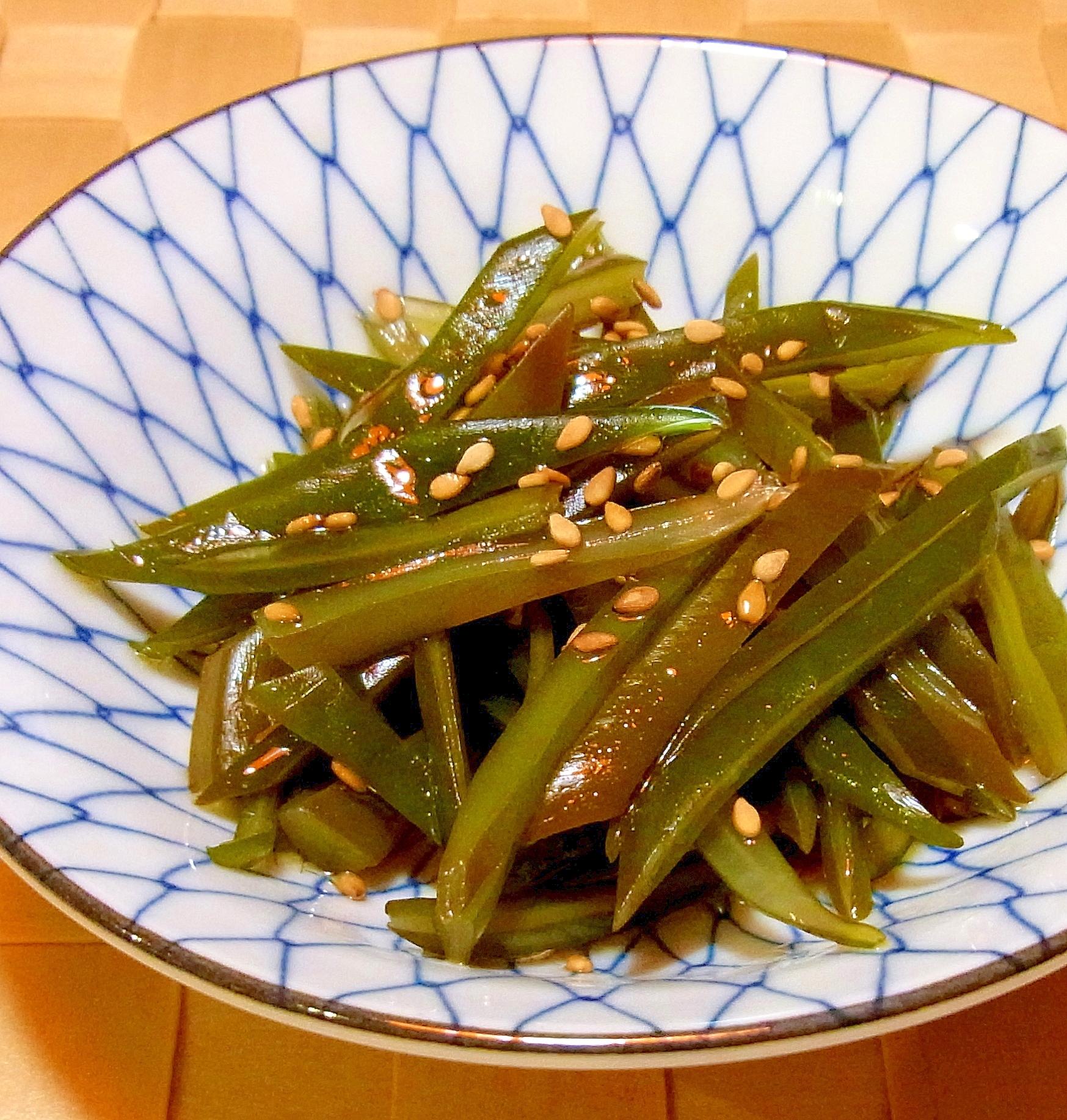 茎わかめのポン酢和え レシピ・作り方