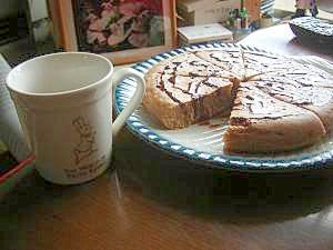 簡単にふわふわチョコパンケーキ