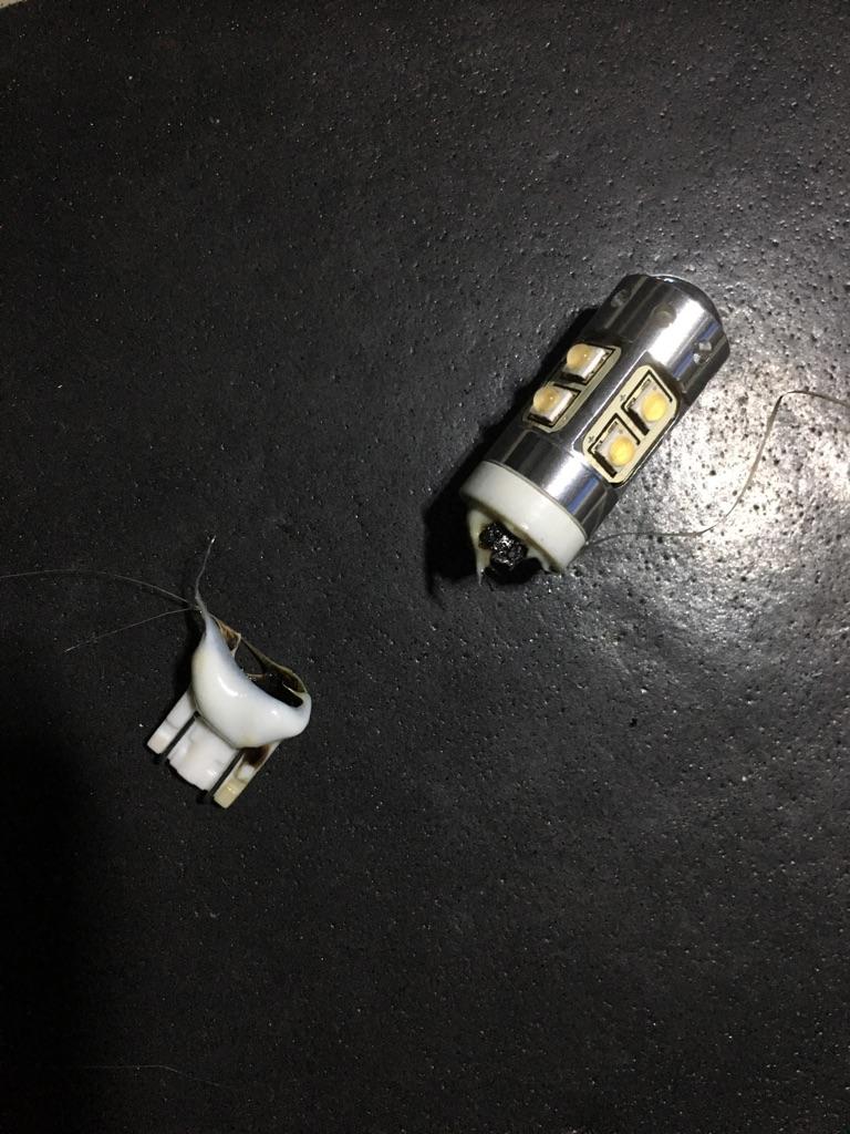 【楽天市場】led T10 T15 T16 89w相当 Cree Ledバルブ 無極性 バルブ ランプ 2個セット