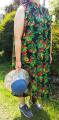 「シャツワンピース / 夏新作 / CUBE SUGAR インド 綿ボイル 総柄プリント 脇ポケット付き ノースリーブ ワンピース (1色): レディース ワンピース 花柄 フラワープリント フレア ボタン 羽織 キューブシュガー」の商品レビュー詳細を見る
