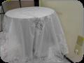 「テーブルクロス 135×180ホワイト ローズ バラ ビニール レース おしゃれ かわいい 白 撥水 防水 透明 北欧 花柄 薔薇 長方形RE72495」の商品レビュー詳細を見る