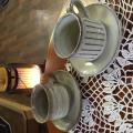 「信楽焼 20客より 選べる コーヒーカップ&ソーサー ペア セット コーヒー碗皿 2客組 セット 陶器 コーヒーカップ ソーサー ペア 北欧 来客用 おしゃれ 珈琲 碗皿 プレゼント ギフト 信楽焼き やきもの」の商品レビュー詳細を見る