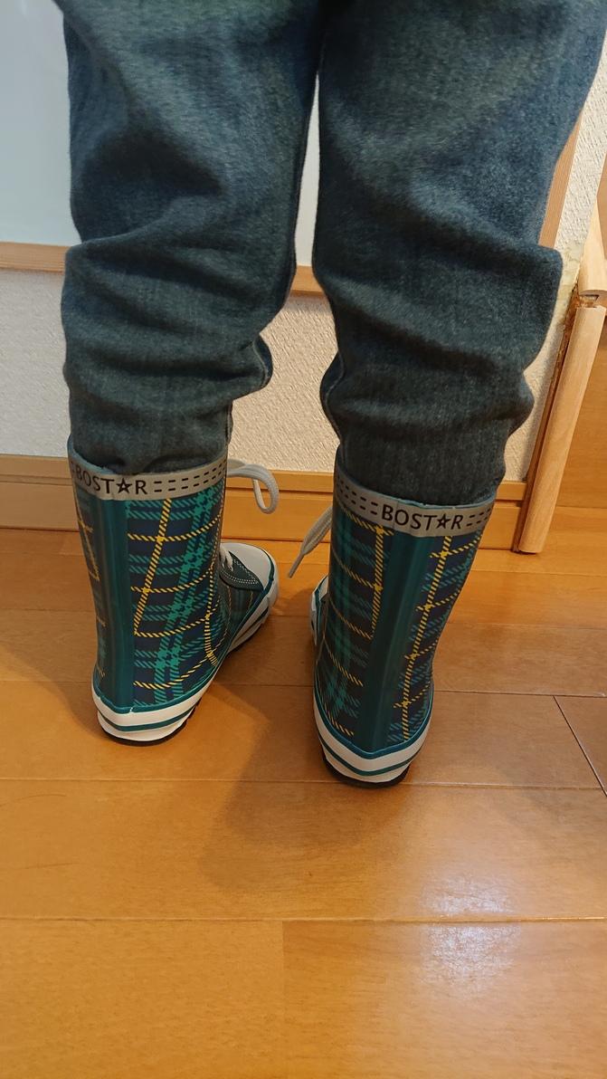 bb7d4d5050a8f 楽天市場】長靴 靴紐シューズ風 キッズ レインブーツ(BOST☆R)子供用 ...