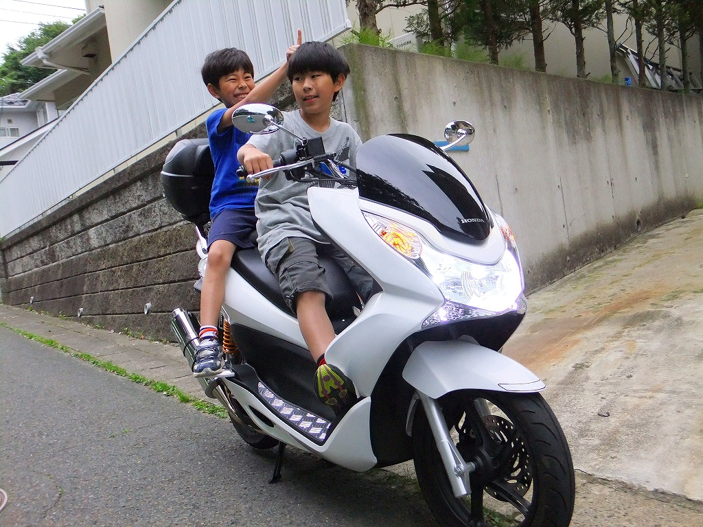 HONDA PCX150 Part36 	YouTube動画>29本 ->画像>12枚