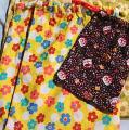 「在庫処分・大幅値下げ綿プリント生地(花柄・水玉)黄×赤×ブルー」の商品レビュー詳細を見る