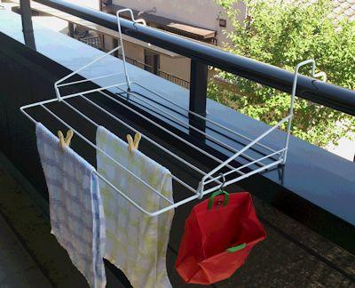 ベランダ用物干し ホッセル 洗濯ハンガー...のレビュー・口コミ
