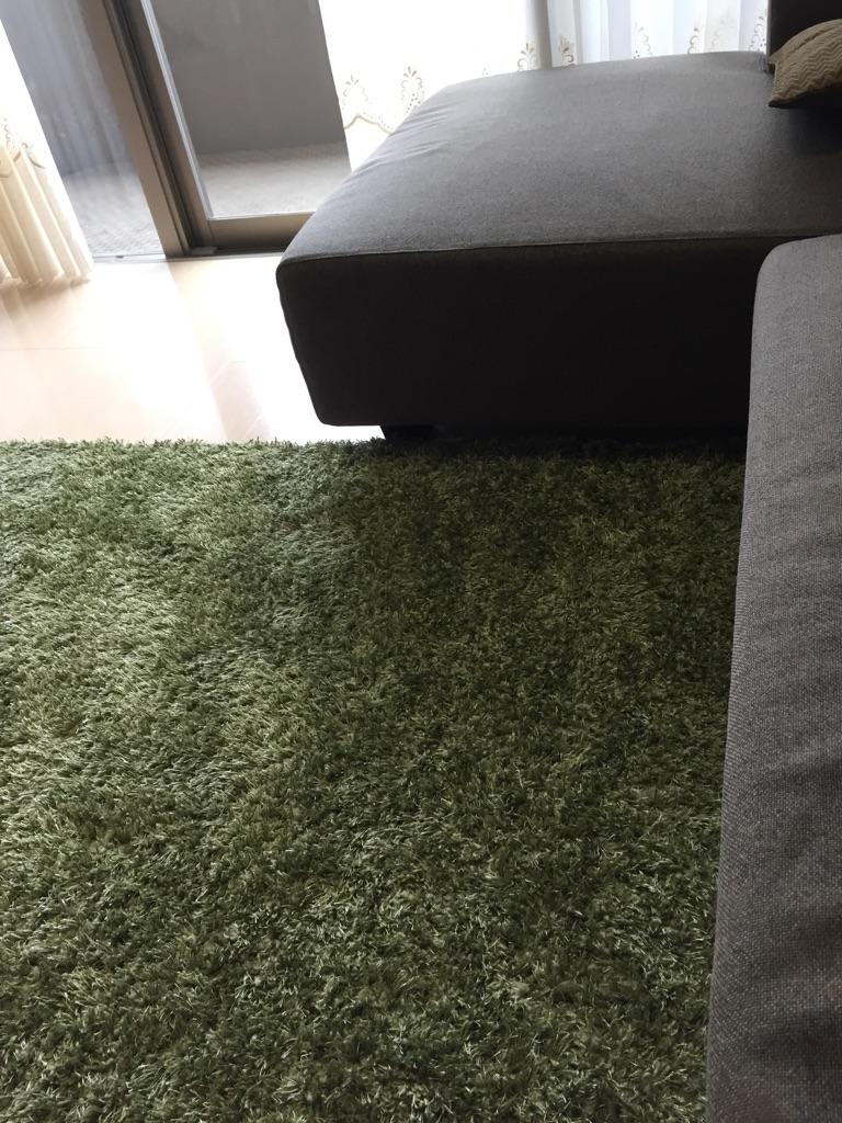 洗える ラグ 北欧デザイン おしゃれ かわいい ホットカーペット 床暖房対応 日本製 190x240cm 3畳