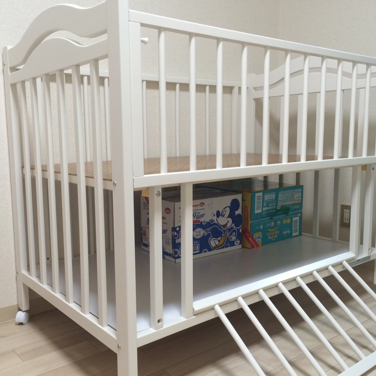 石崎 家具 ベビー ベッド
