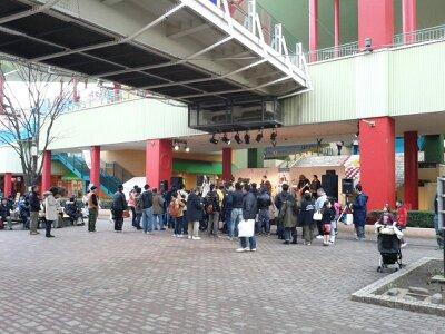 ビナウォーク・マキタ学級ライブ前2012年12月