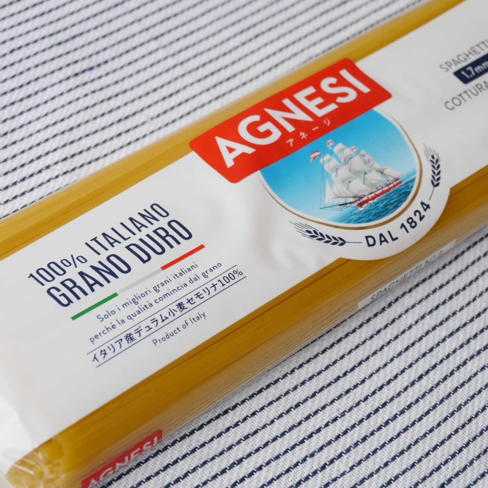 ピエトロ AGNESI(アネージ)スパゲティ1.7mm