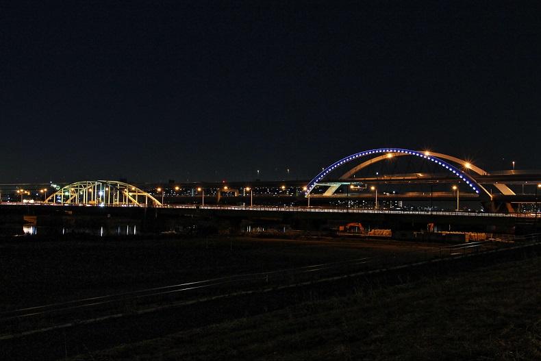 4.江北橋と五色桜橋.JPG