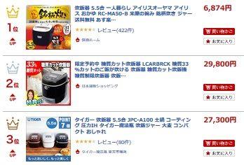 コストコ  玄米(ひとめぼれ)3K 998円 レポ ご飯 炊飯器 口コミ ランキング