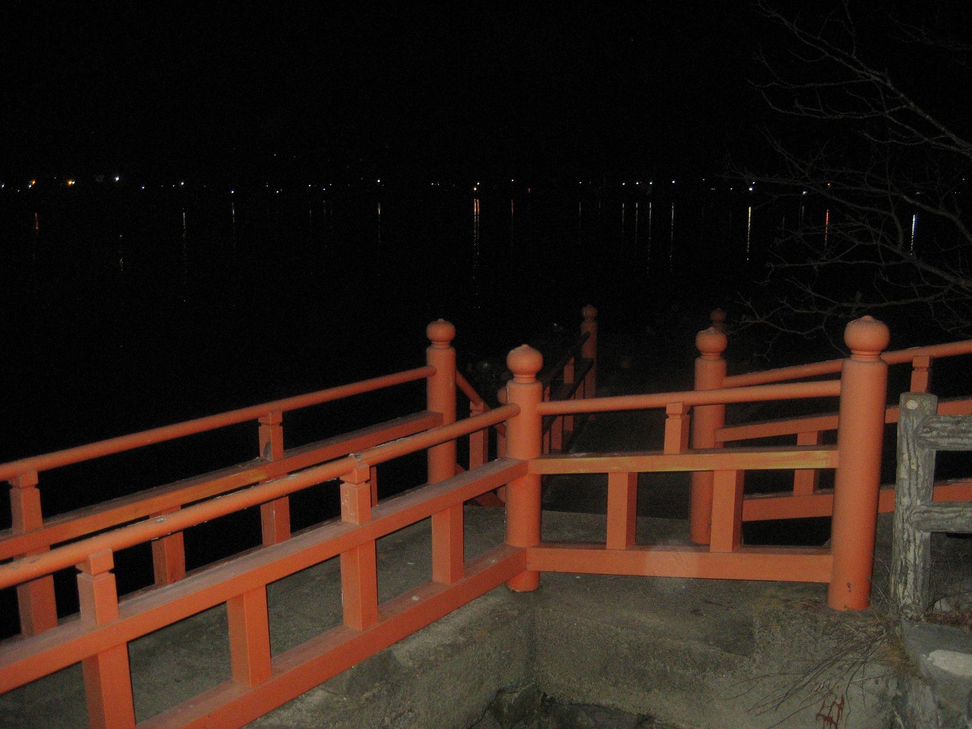 五十鈴神社 沿道