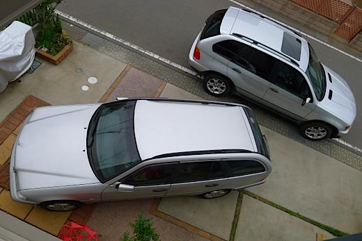 BMW X5 & ベンツ C200