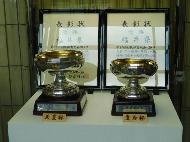 国体の天皇杯、皇后杯見て下さい | 何も無い 福井県のブログ - 楽天ブログ