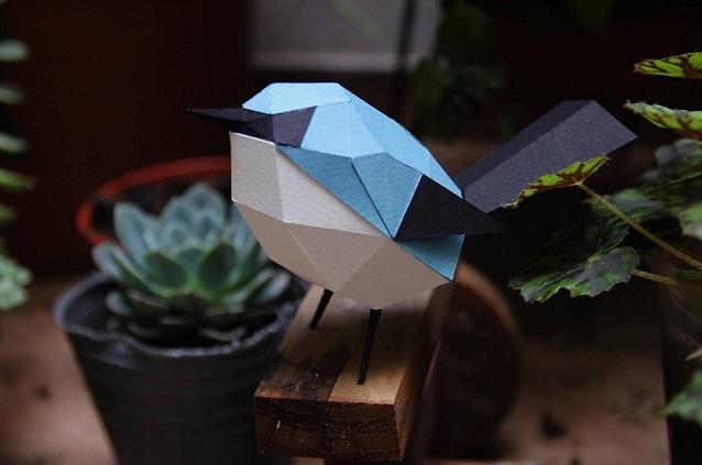 Geometric Paper Birds