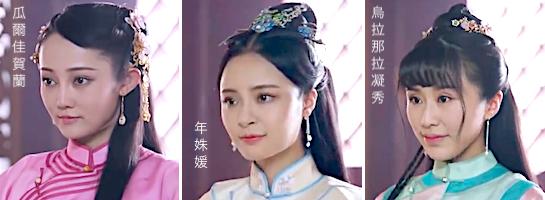 中国 ドラマ 花 散る 宮廷 の 女 たち あらすじ