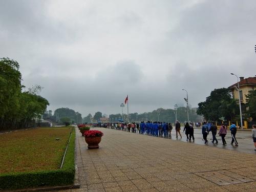 ハノイ ホーチミン廟 ベトナム 観光