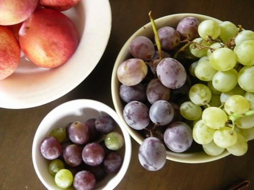8いただきもの 混ぜ洗い葡萄 お皿付き2500.jpg