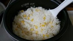 バターコーンの炊き込みご飯