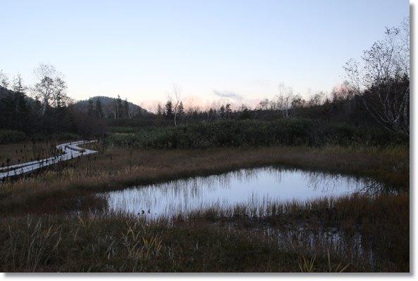 栂池自然園-65 池塘-2 15.10.2 17:00