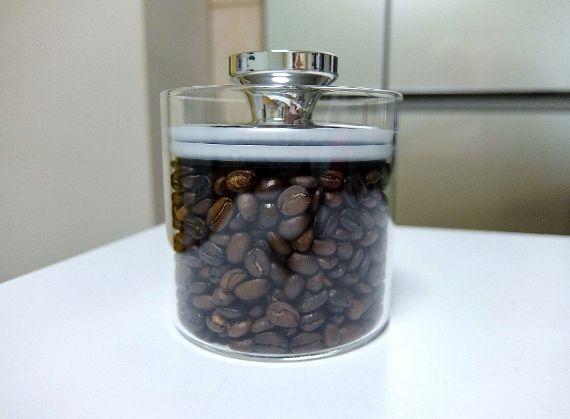 エア リデューサー  フェリオ ガラス キャニスター 密封 おしゃれ コーヒー 保存