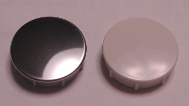 2種類の排水栓用押しボタンを取り寄せる