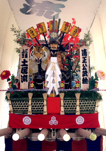 2012三番山笠土居流「清正公武勲」