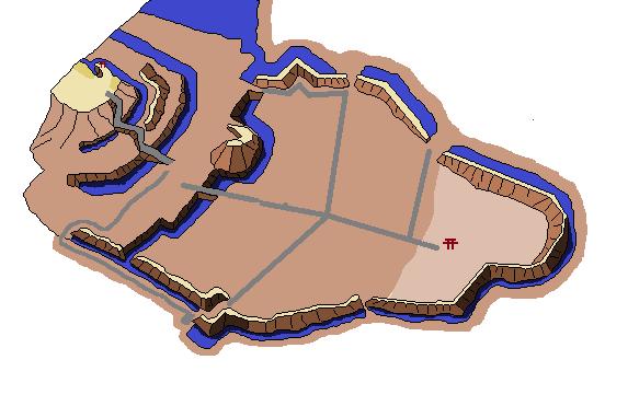 真壁城らくがき地図