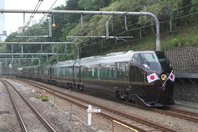 中央線 お召し列車. 運転2