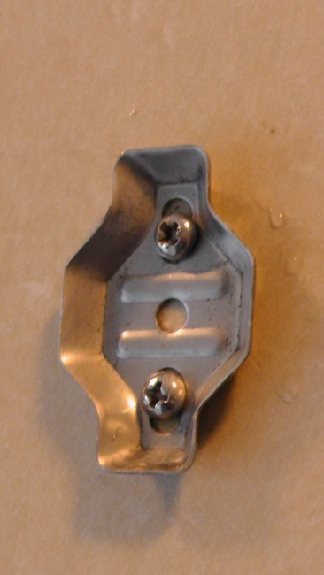 シャワー用ポールの固定金具