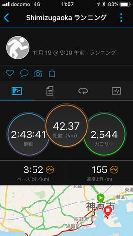 神戸マラソンタイム17111902