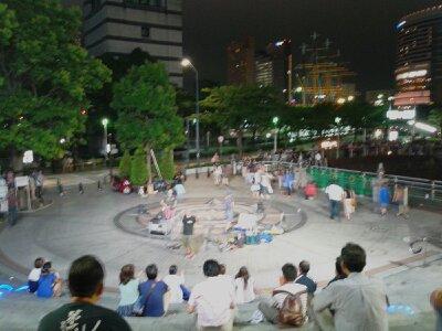 クイーンズ円形広場2013年8月